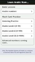 Screenshot of Learn Arabic Numbers (Pro)