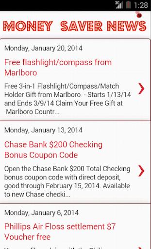 Money Saver News and Deals