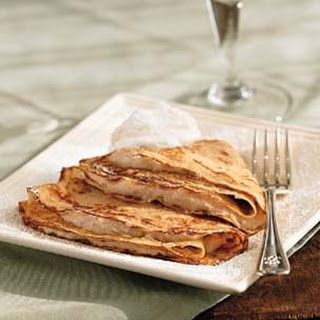 Crepes with Chestnut Cream.