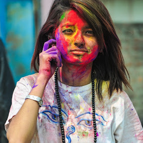 Colors  by Naveen Rai - People Portraits of Women (  )