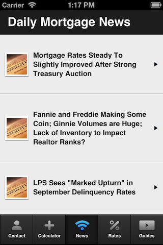 Kathy Roark's Mortgage Mapp - screenshot
