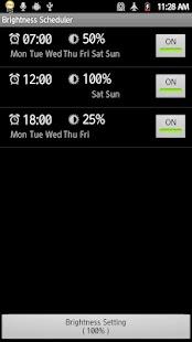 Brightness Scheduler Pro