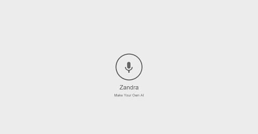 Zandra - 讓你打造自己的強化聲控系統