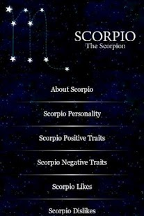 Scorpio Traits - screenshot thumbnail