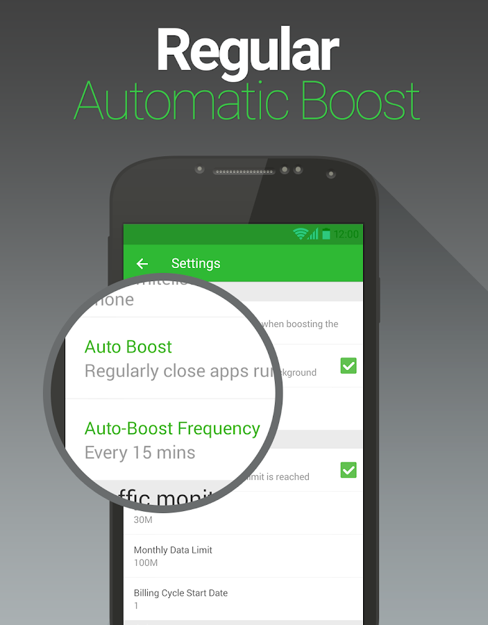 Booster for Android - FREE - screenshot