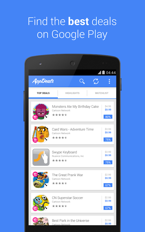 AppDeals. Great Apps on Sale- screenshot