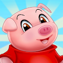 Three Little Pigs for kids 3-5 icon