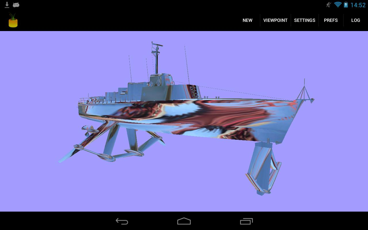 FreeX3D: VRML, X3D, STL Viewer- screenshot