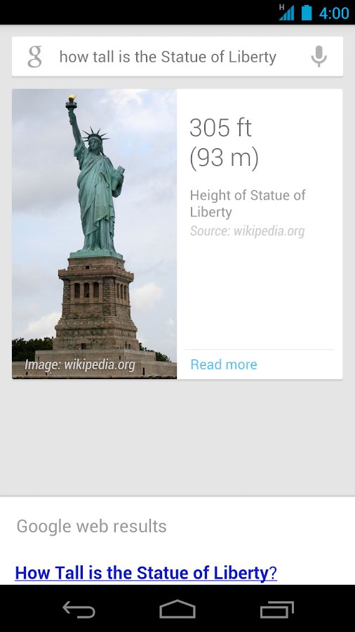 Google Search Android apk