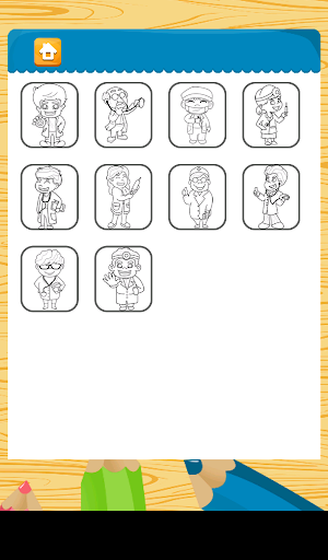 Doctors Coloring Game