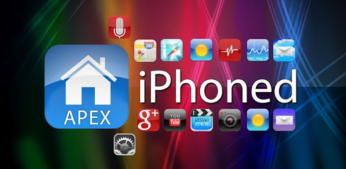 iPhoned HD Apex Theme apk