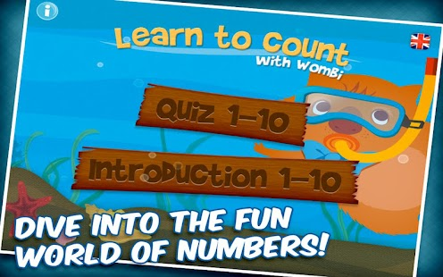 Learn to count with Wombi!- screenshot thumbnail