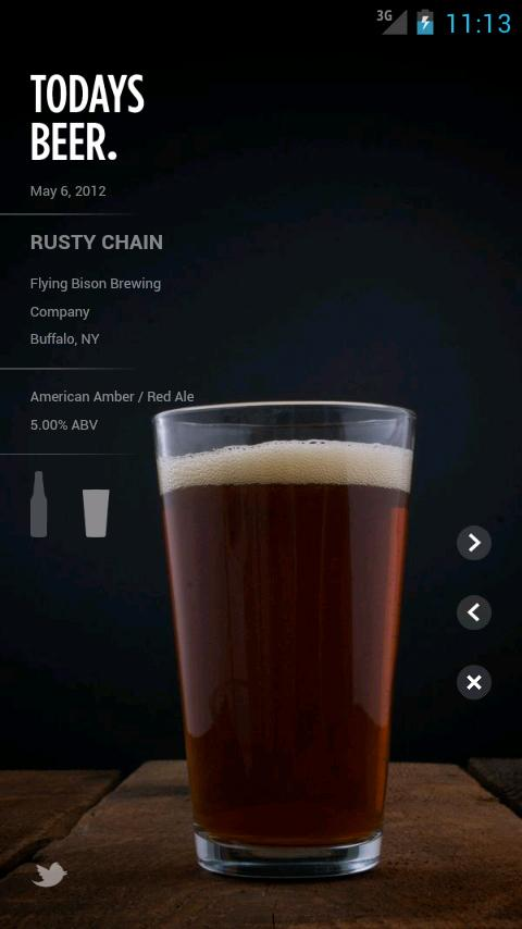Today's Beer- screenshot