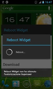 Reboot Widget for Root User Screenshot 3