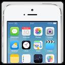 IPHONE 5S IOS 7 FAKE FREE 2014 mobile app icon