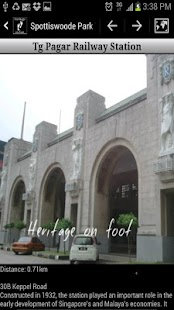Singapore Heritage on foot - screenshot thumbnail
