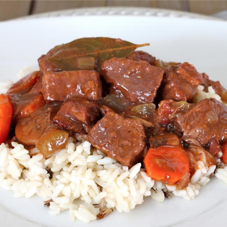 Boeuf Bourguignon (French Beef Stew)