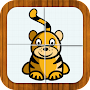 Animal puzzle for toddlers APK icon