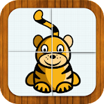 Animal puzzle for toddlers 3 Apk