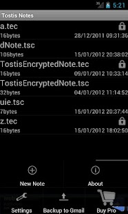 Tostis Notes Lite - screenshot thumbnail