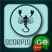 Scorpio Theme for GO SMS
