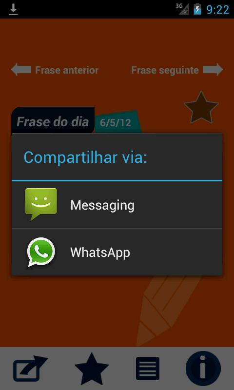 A Frase do Dia - screenshot