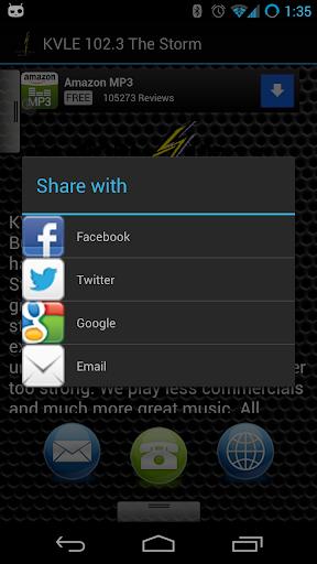 【免費音樂App】KVLE 102.3 The Storm-APP點子