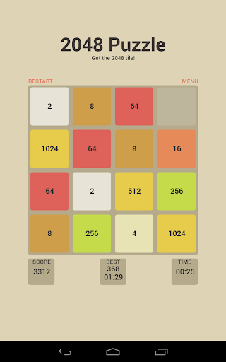 Fun and challenging 2048