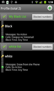Extreme Call Blocker (Stealth) - screenshot thumbnail