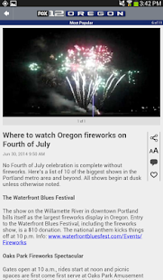 FOX12 Oregon - screenshot thumbnail