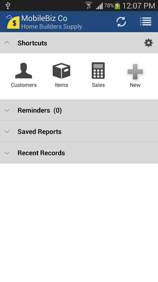 MobileBiz Co - Cloud Invoice- screenshot