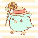 Tweecha Theme:HimawariPi-chan icon