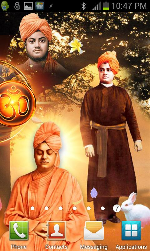 Swami Vivekanand Wallpaper LWP - screenshot