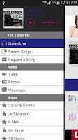 Screenshot of 105.3 KISS FM