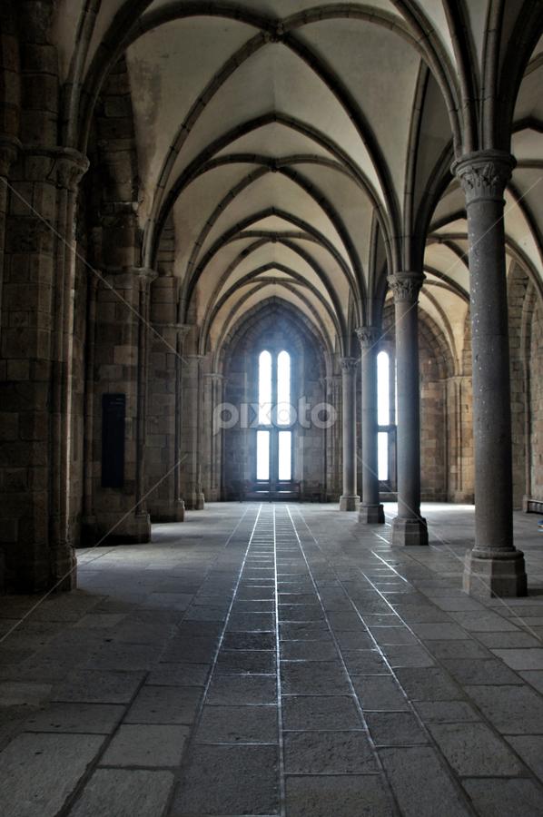 Mont Saint Michel Interior 7 Public Historical Buildings