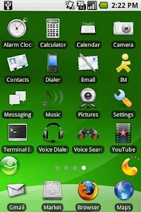 aHome Theme: openSUSE screenshot 1