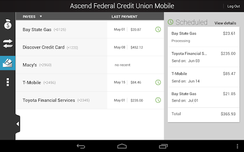 Ascend Federal Credit Union - screenshot thumbnail