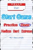 Screenshot of CategoWiz - Categories game