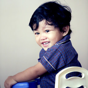 The Big Boy by Mohd Nazmie Ab Malek - Babies & Children Children Candids