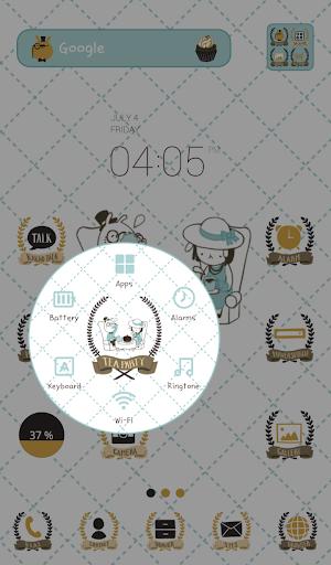 玩個人化App|bunny banny dodol theme免費|APP試玩