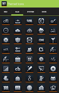 Apex/Nova - Warfield Icon Pack- screenshot thumbnail