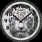 White Tiger Clock icon