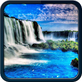 3D Waterfall Theme