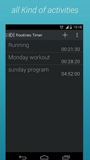 Routine timer - interval