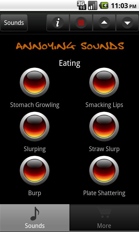 Annoying Sounds & Noises- screenshot