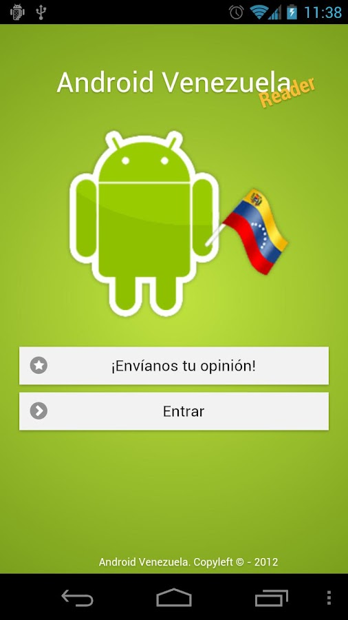 Android Venezuela Reader - screenshot