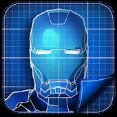 Droid Blueprints GO Launcher