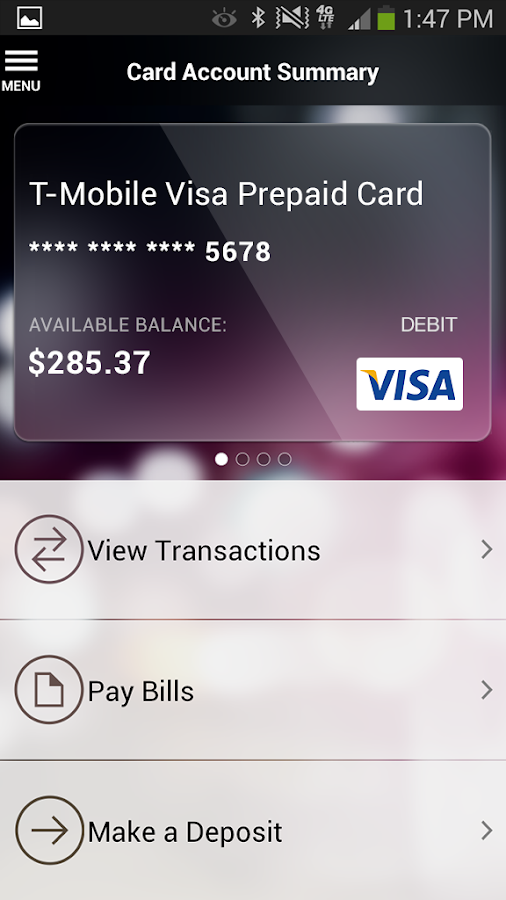 Mobile Money by T-Mobile - screenshot