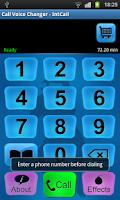 Screenshot of Call Voice Changer - IntCall