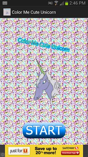 Color Me Cute Unicorn